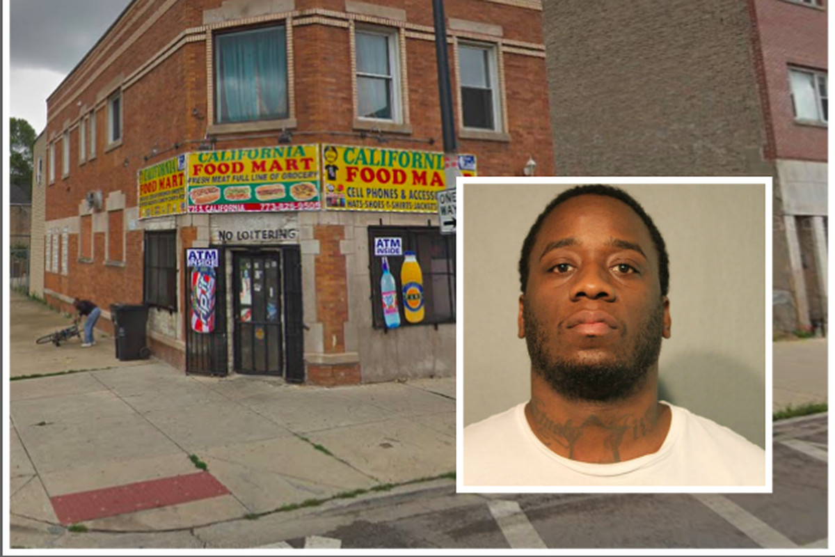 Napoleon Sharkey, 32, faces counts of first-degree  murder and attempted murder in an Jan. 10 shooting outside of a corner store in the 700 block of South California Avenue.