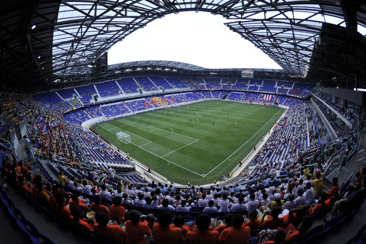 The announced attendance for the Red Bulls' 1-0 win over the Chicago Fire on Wednesday afternoon was 15,814. You be the judge.