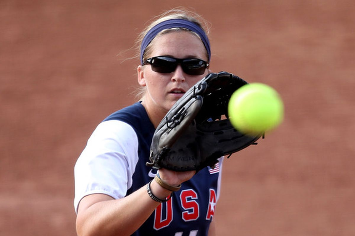 The lack of softball photos makes for little variation in headers.