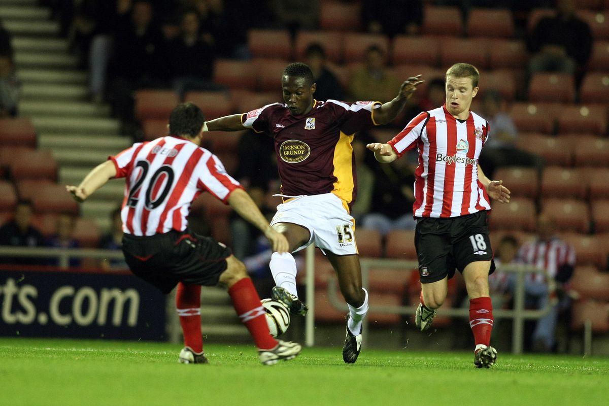 Carling Cup Third Round Match: Sunderland v Northampton Town