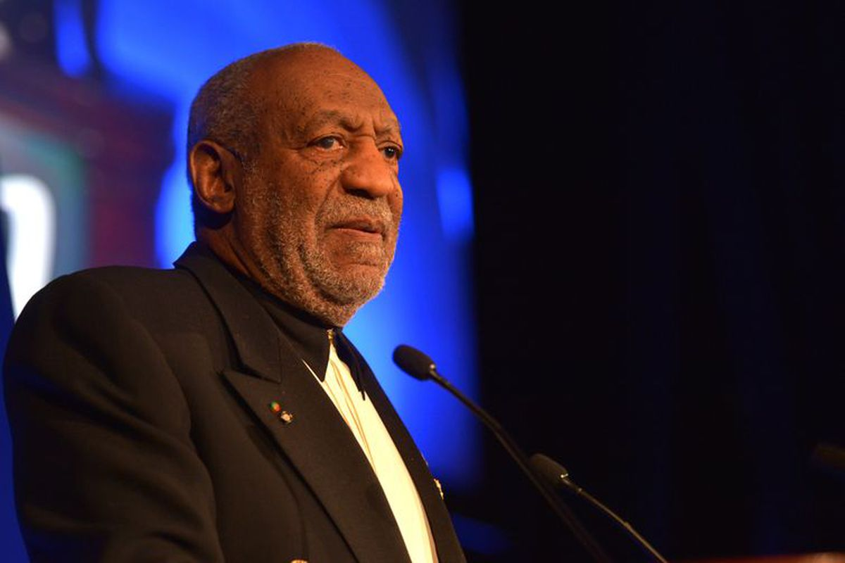Bill Cosby speaks at the Jackie Robinson Foundation 2014 Awards Dinner.