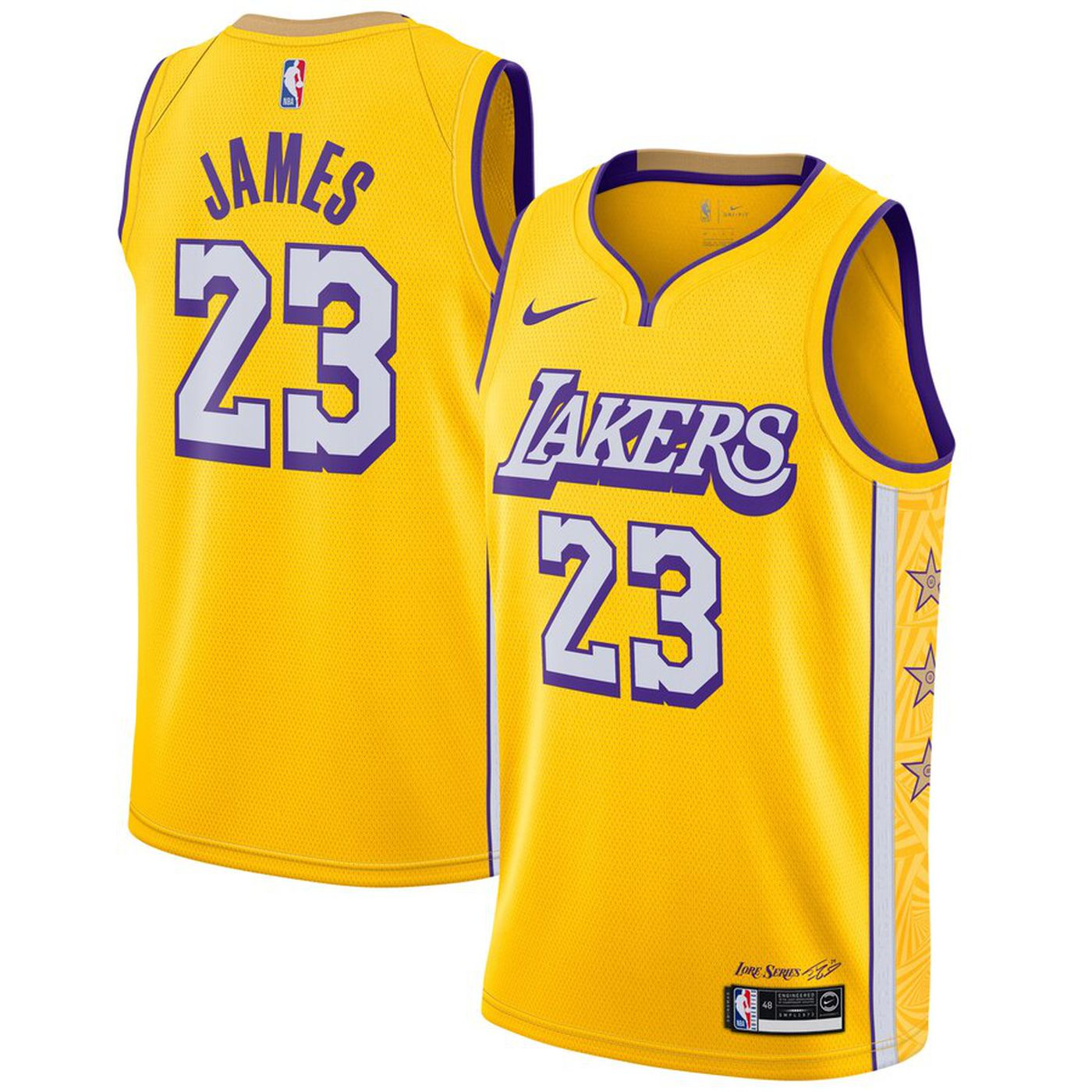 NBA City Edition 2019: Here's the new Los Angeles Lakers jerseys ...