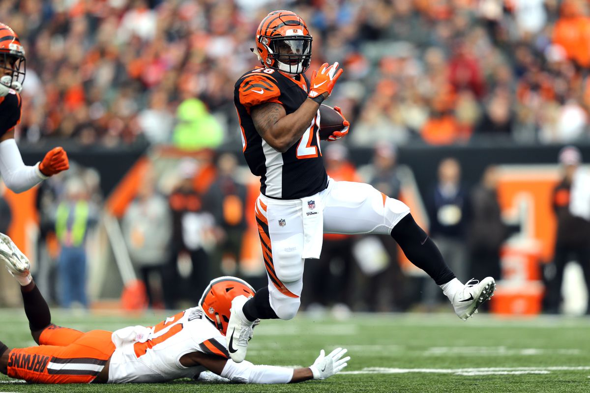 53fbe592fcd Bengals  second half comeback falls short  suffer first loss vs. Browns  since 2014