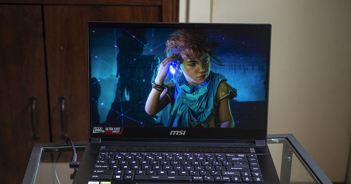 MSI's GS66 Stealth hands-on: gaming is better with the RTX 3080 and QHD