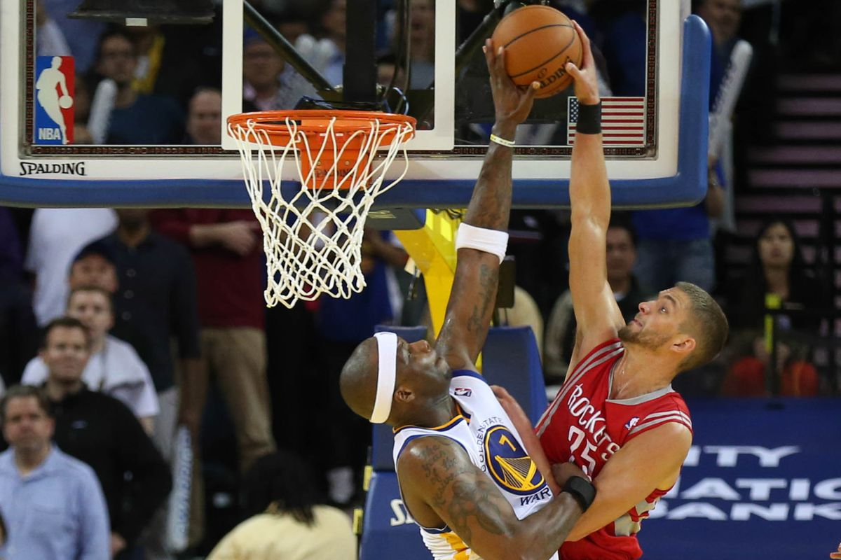 Jermaine O'Neal's game-saving block on Chandler Parsons made all the difference.