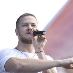 Dan Reynolds, lead singer of Imagine Dragons, speaks during the LoveLoud Festival at Utah Valley University in Orem on Saturday, Aug. 26, 2017. He created the festival to promote acceptance and support to individuals in the LGBTQ community. In addition, the festival shed light on suicide prevalence in the LGBTQ community.   LGBTQ inclusive groups such as The Trevor Project, GLAAD, Encircle and Stand4Kind benefited from the LoveLoud Festival.