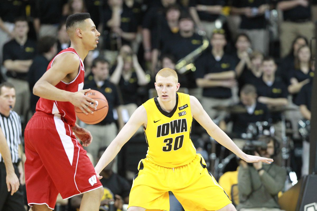 Aaron White was once a gain a thorn in Wisconsin's side.