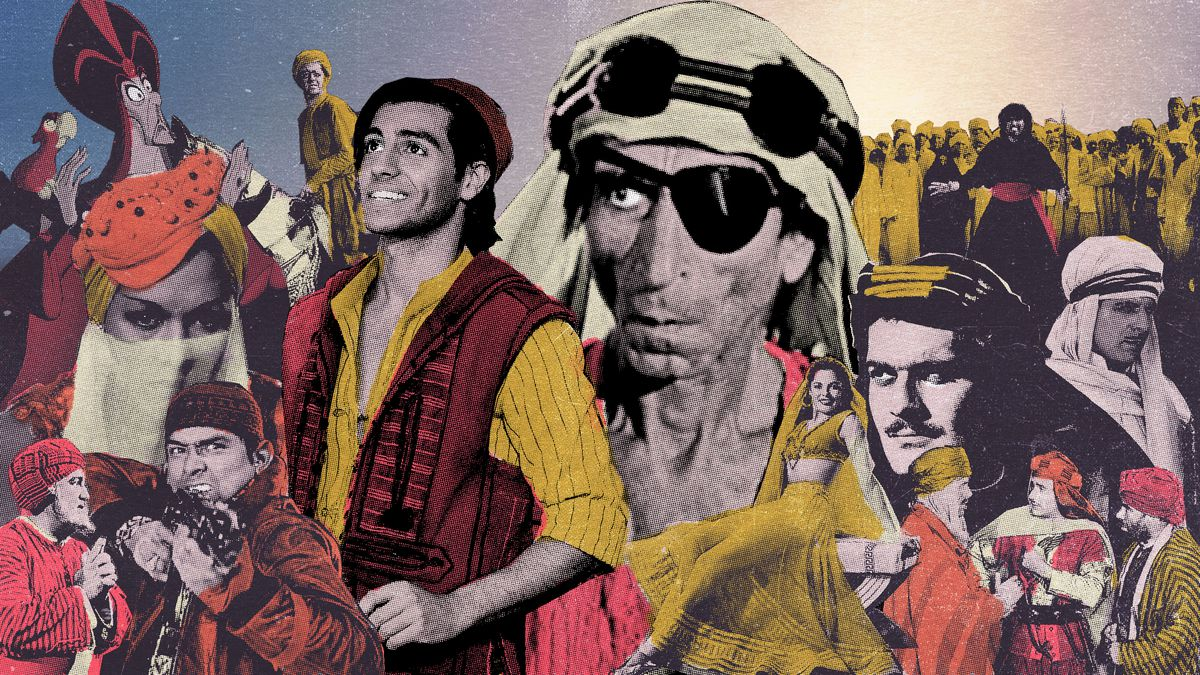 The First Arab American Movie Star, Long Before 'Aladdin