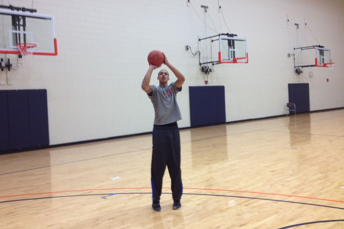 McKenzie Moore at the Foster Stevens Basketball Complex - 6/26/2012