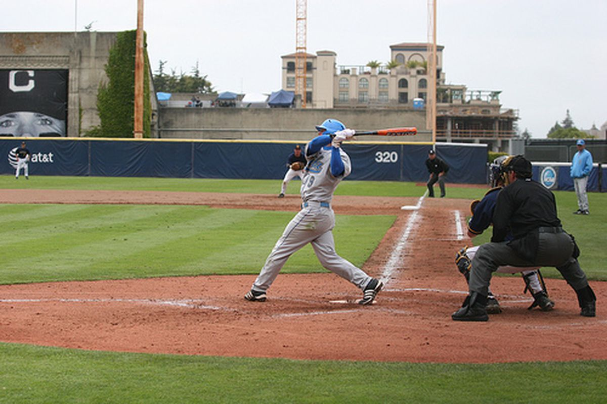 """<em>Blair Dunlap and co have a big game tonight in the OC. Photo Credit: <a href=""""http://www.flickr.com/photos/uclabaseball/2665785294/"""" target=""""new"""">UCLA Baseball (flickr)</a></em>"""