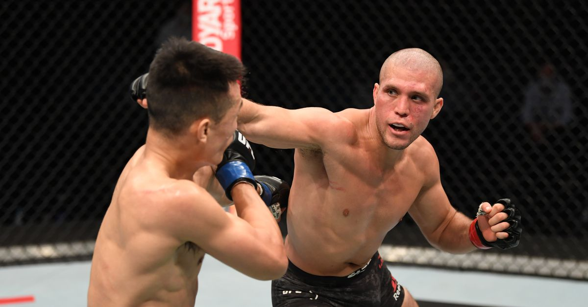 Brian Ortega vs. Korean Zombie full fight video highlights