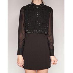 "<b>Pixie Market</b> Chic Black Diamond Dress, <a href=""http://www.pixiemarket.com/dresses/chic-black-diamond-dress.html"">$129</a>"