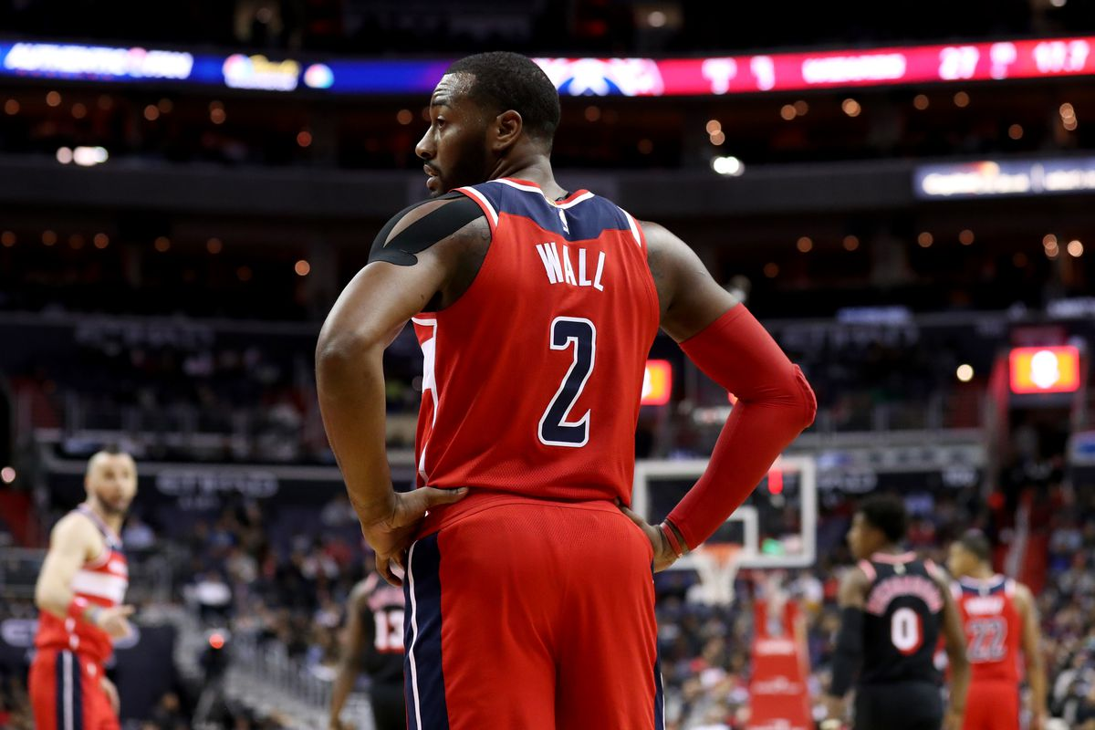 John Wall Out At Least Two Weeks