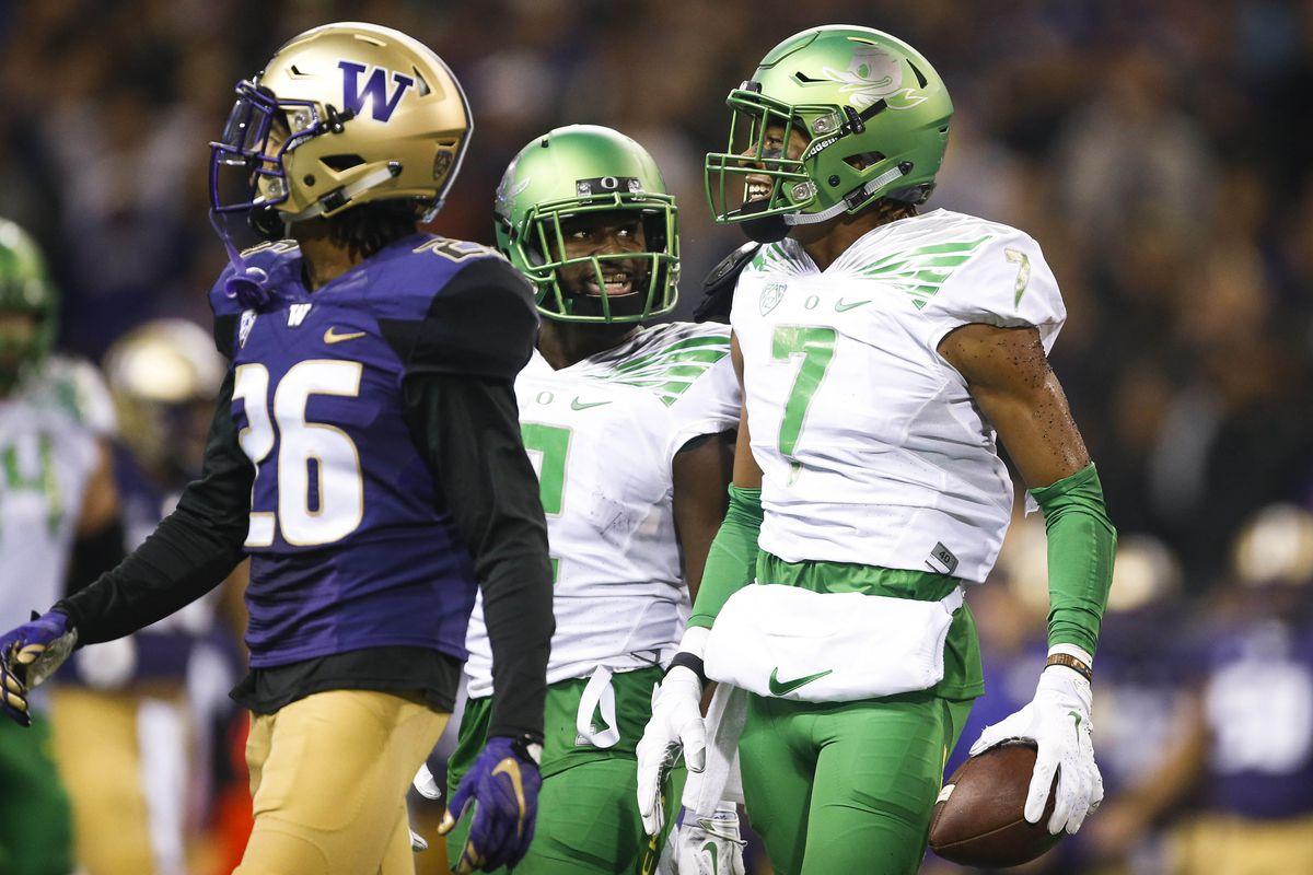 NCAA Football: Oregon at Washington