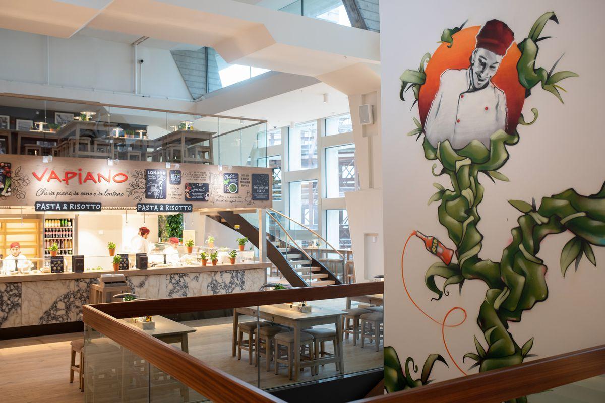 Centre Point Tottenham Court Road: Italian chain Vapiano is open