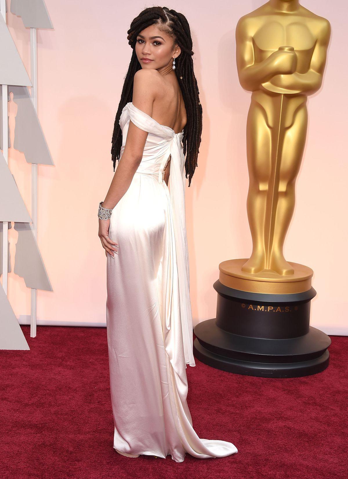 Zendaya at the Oscars.