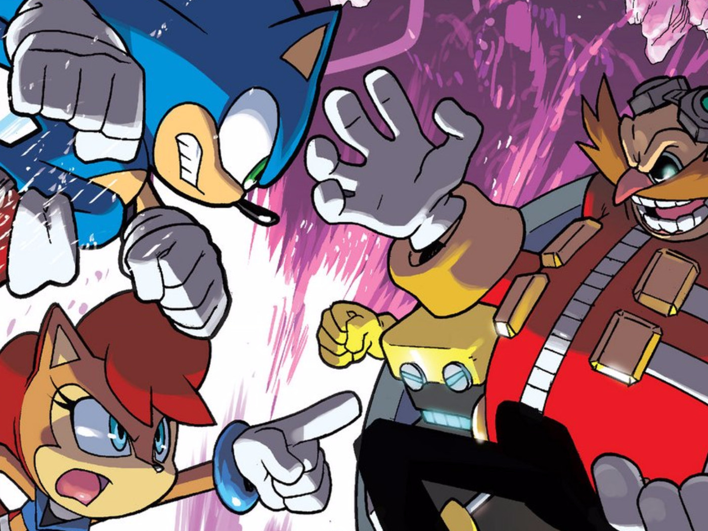 How Did Sonic The Hedgehog Become America S Longest Running Comic Polygon