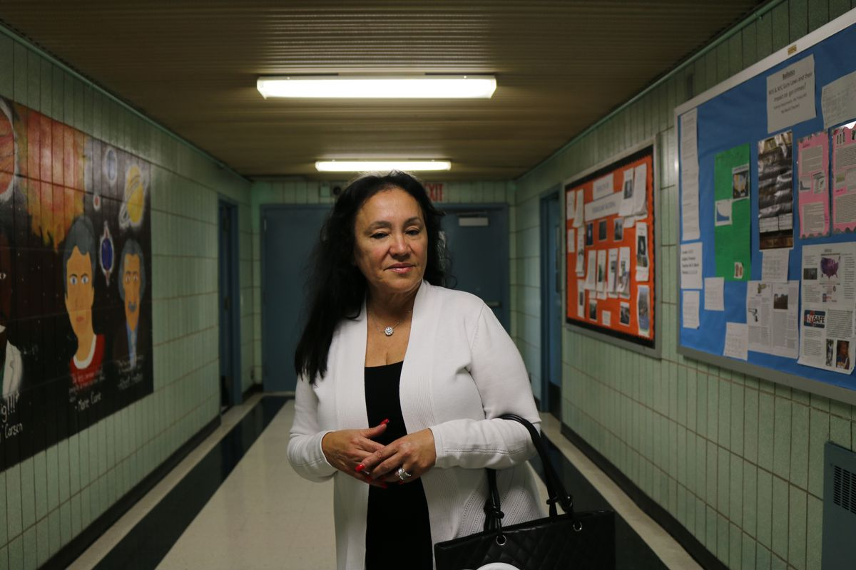 Chancellor Rosa at Thomas A. Edison Career and Technical Education High School