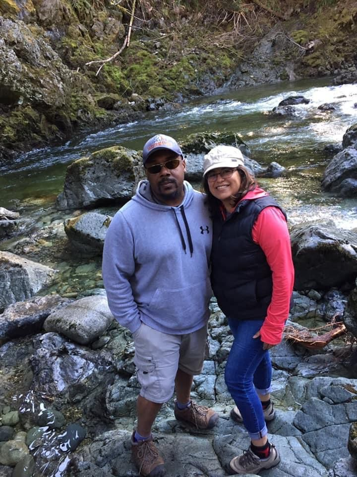 Dionte Jelks and his wife Elizabeth now live in a town on Vancouver Island in Canada.