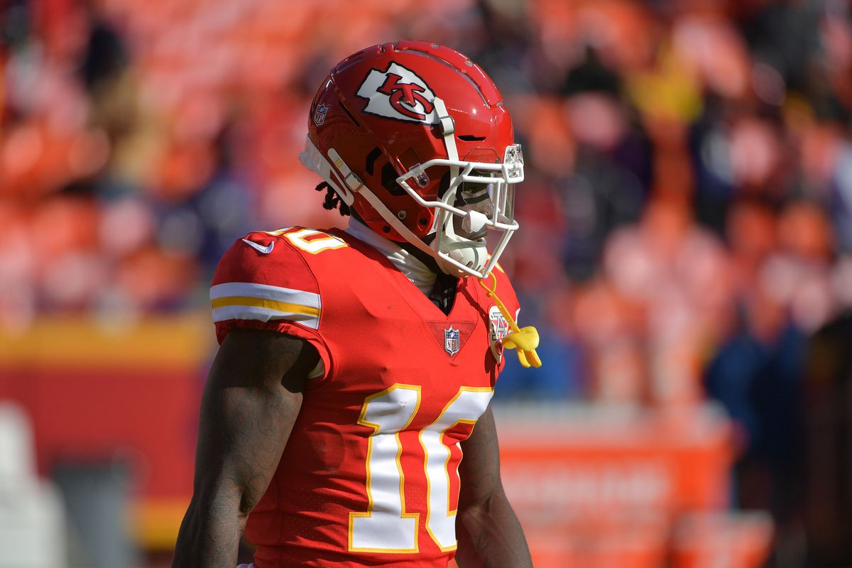 8b36b35eda7 Chiefs WR Tyreek Hill s criminal case reopened following audio ...