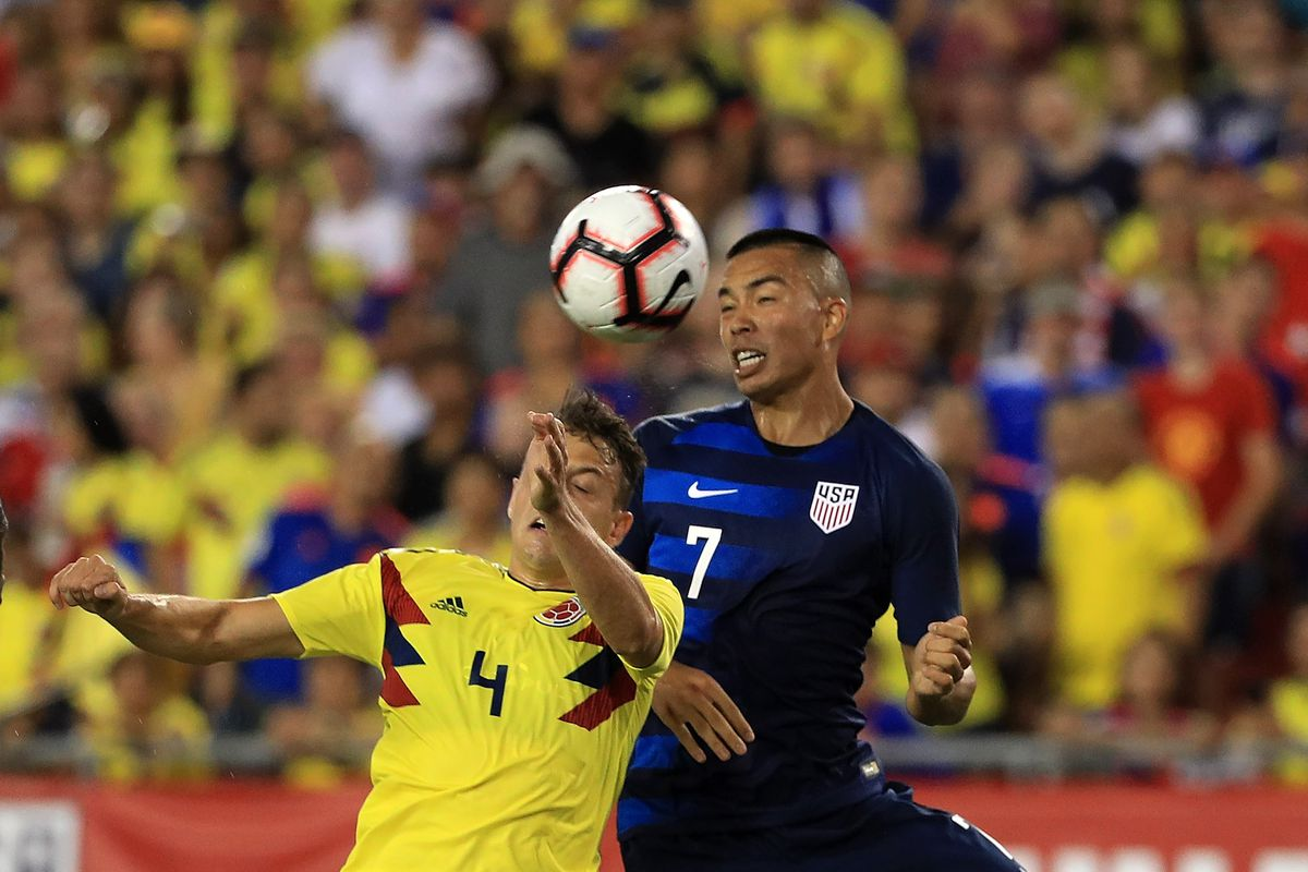 Usa Vs Colombia 2018 Friendly What