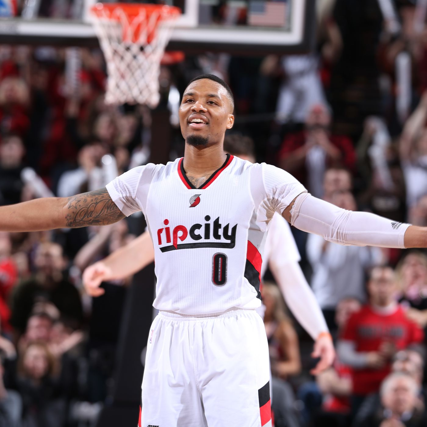 buy popular 8fb03 4d0c9 Damian Lillard made the 2018 All-Star Game. Please, NEVER ...