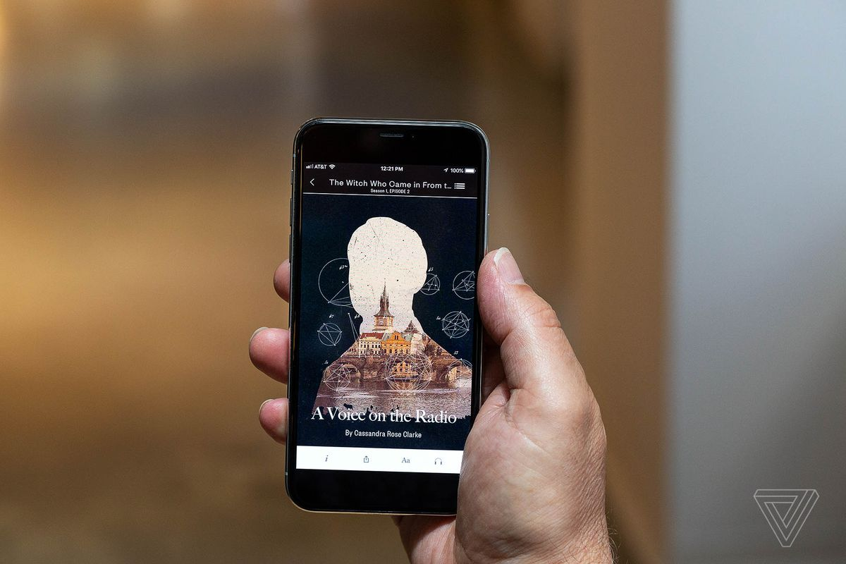 This app will send you tiny short stories via push notification