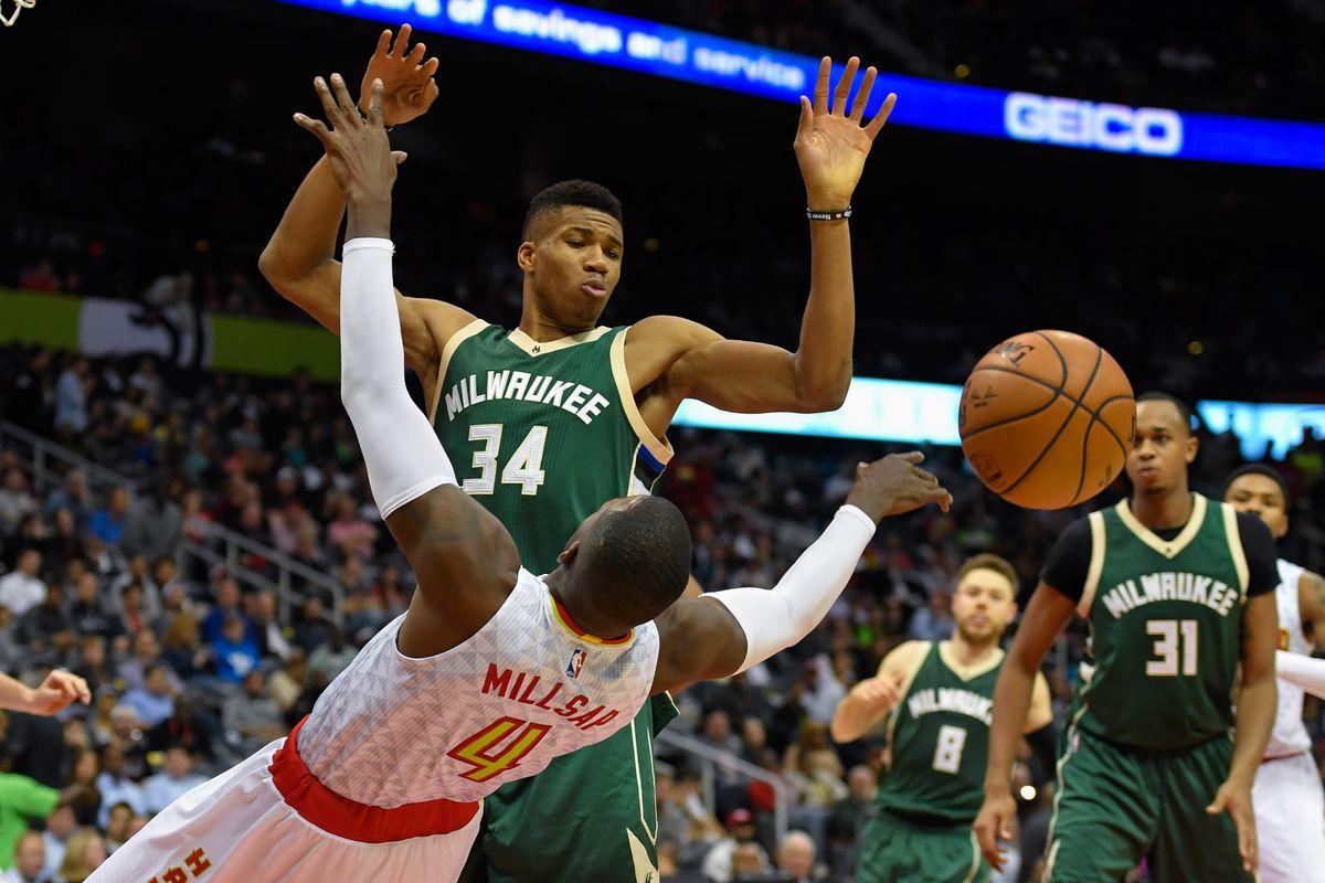 NBA: Milwaukee Bucks at Atlanta Hawks