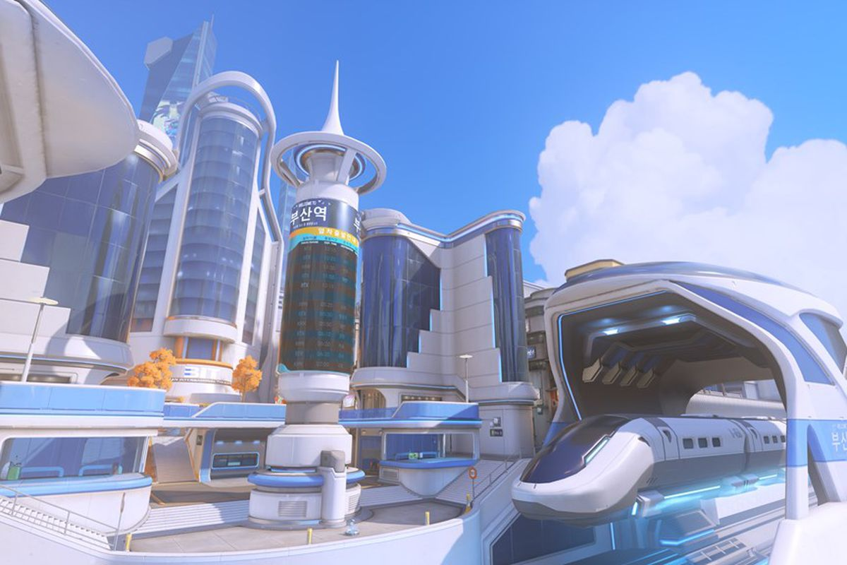 Overwatch Heads To Busan South Korea In Brand New Control Map