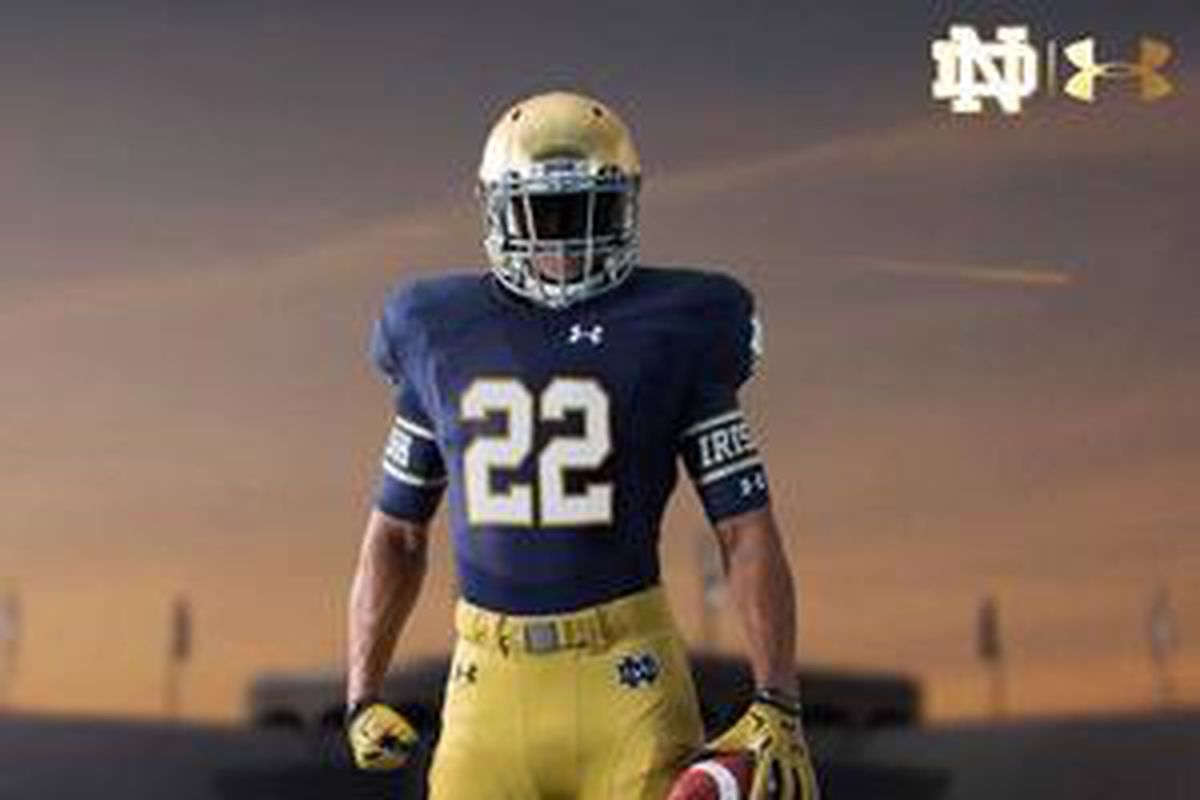 Notre Dame Football Unveils New (Not New) Home Uniform - One Foot Down d21609a3b
