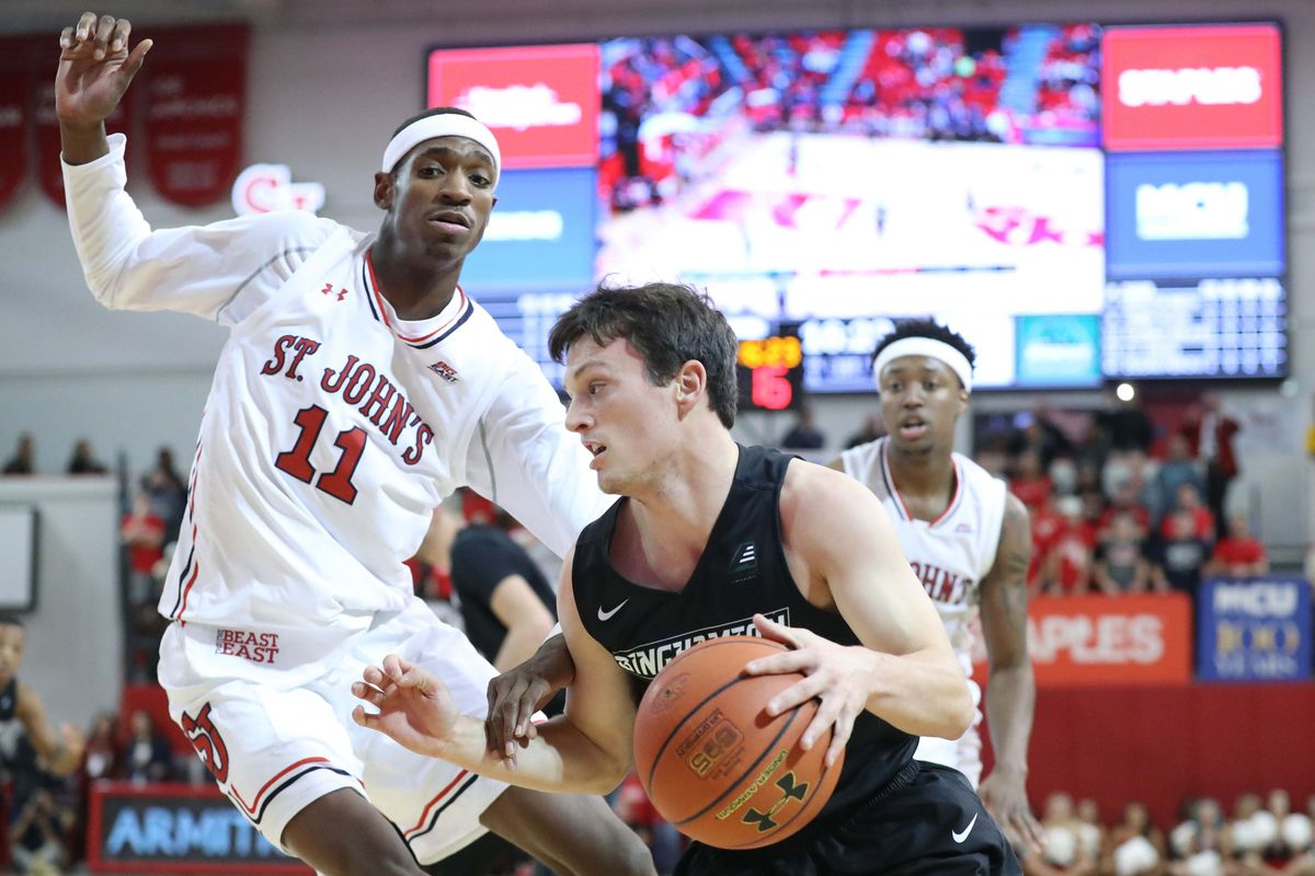 NCAA Basketball: Binghamton at St. John