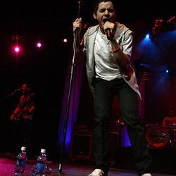 David Archuleta sings to a sold-out crowd at the E Center in West Valley City on Friday.