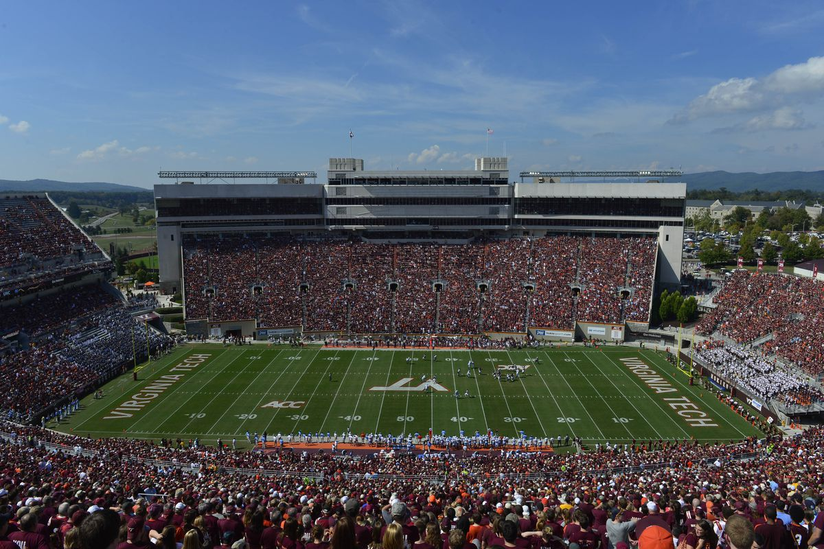 just another capacity crowd at Lane Stadium