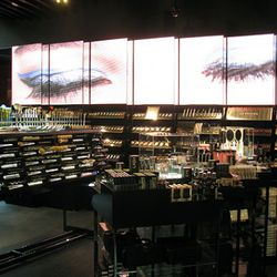 Video art in the Sephora brand section