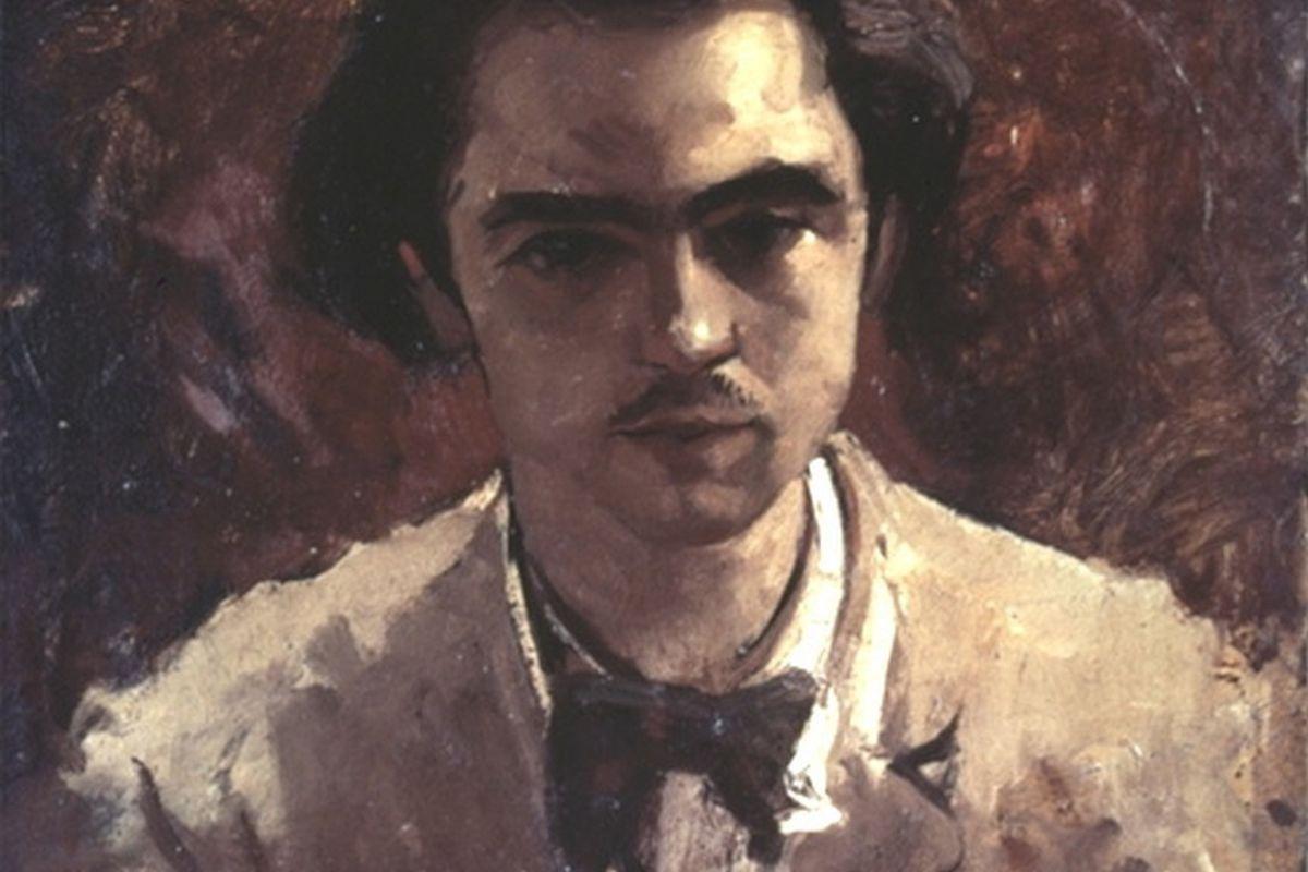 Paul Verlaine as a young man