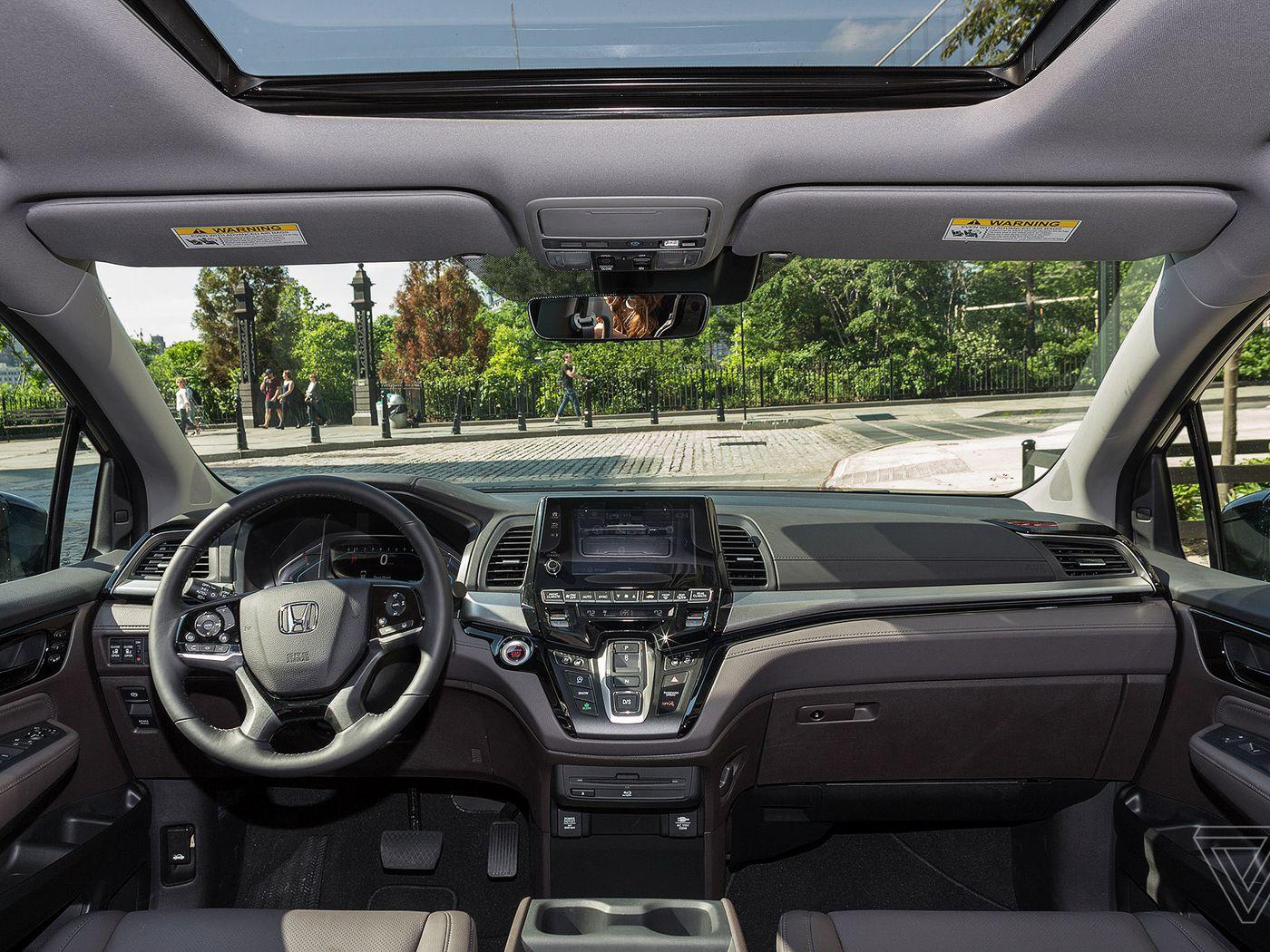 The 2018 Honda Odyssey Turns Screens On Your Passengers Verge Accord Sd Sensor Location
