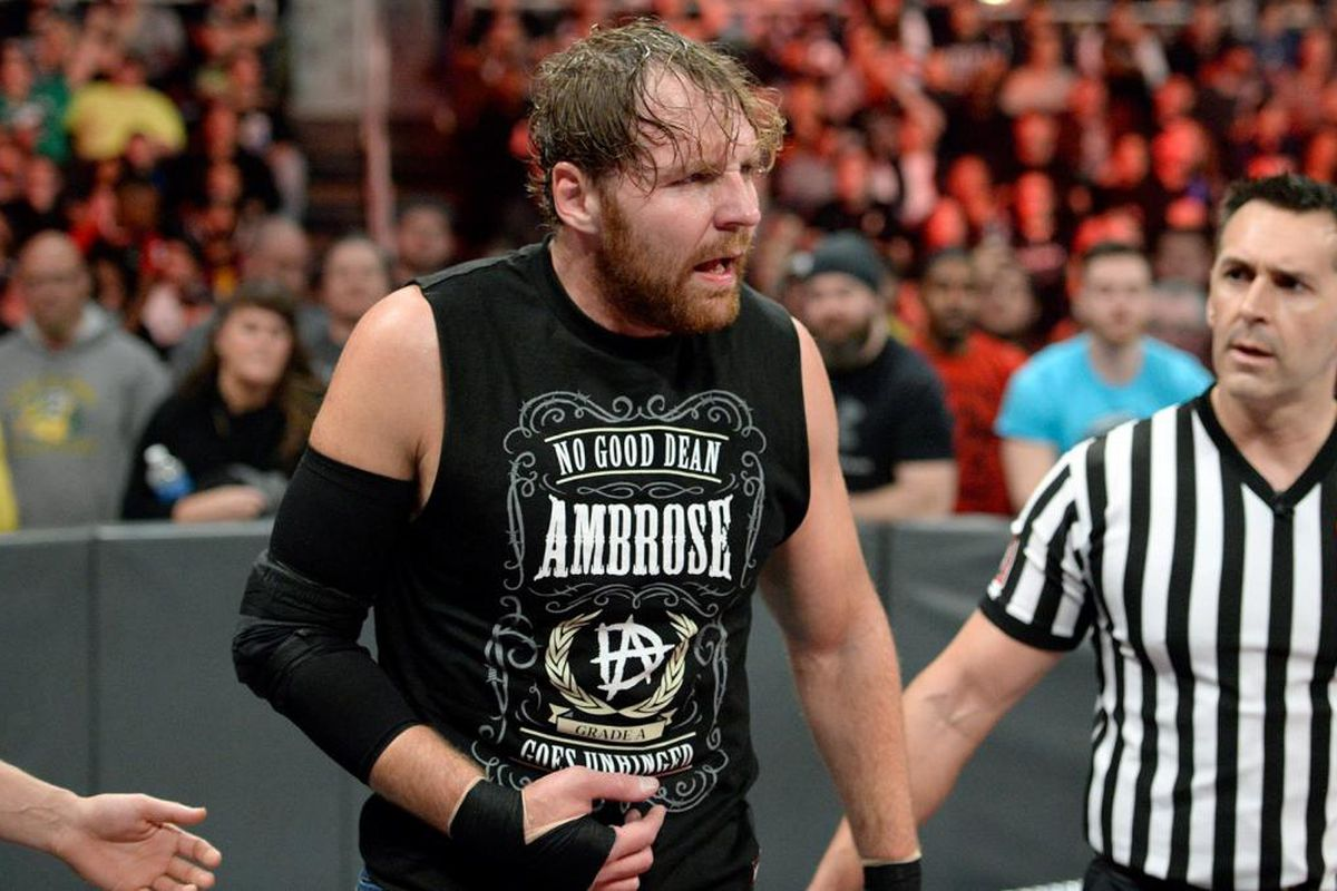 Image result for Dean Ambrose injury