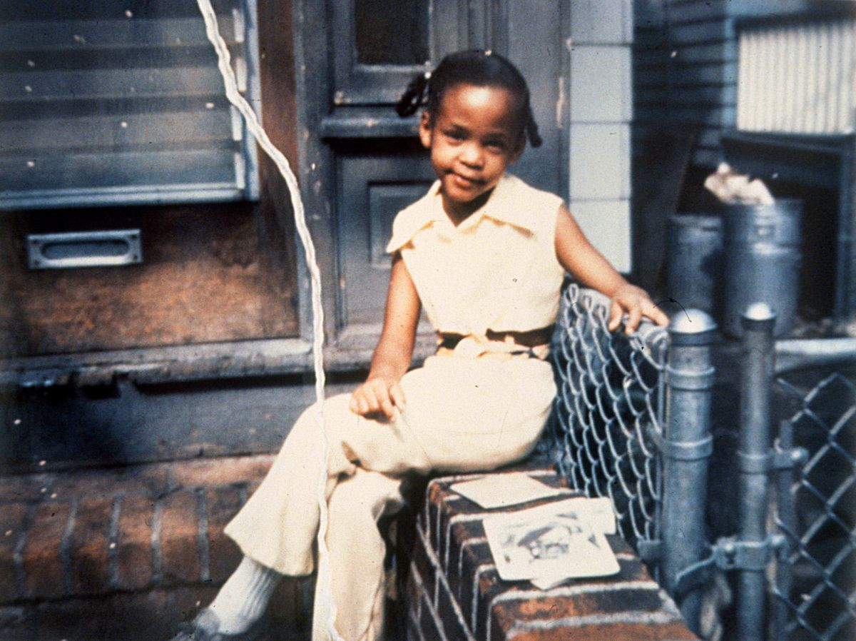 """Whitney Houston is seen as a girl in a photo from """"Whitney. 'Can I Be Me.' """" 