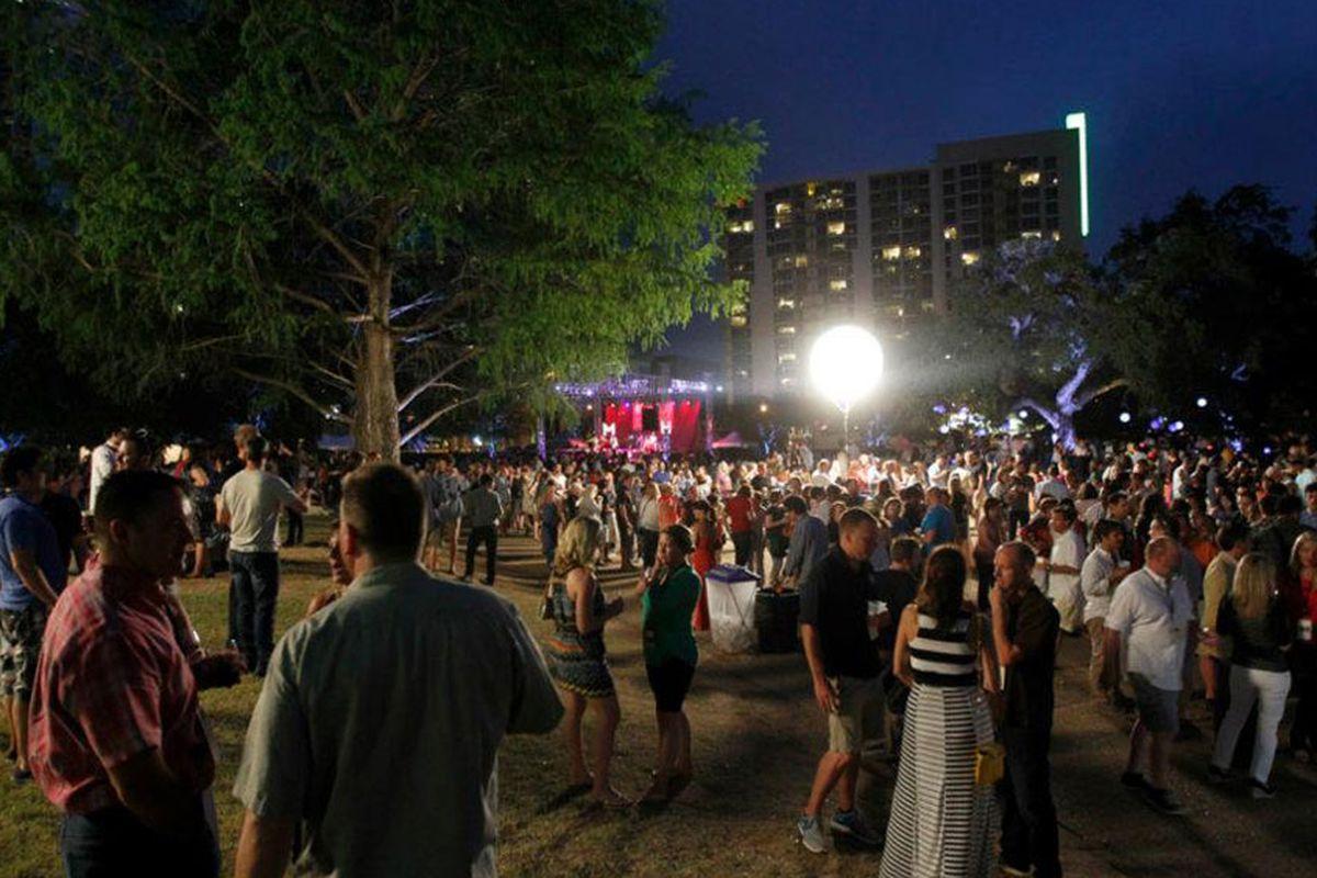 Austin Food & Wine Festival 2012.