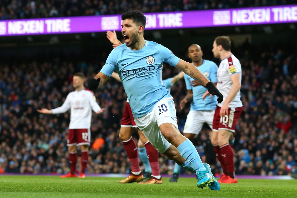 Ilkay Gundogan praises Sergio Aguero's 'perfect timing' after Burnley win