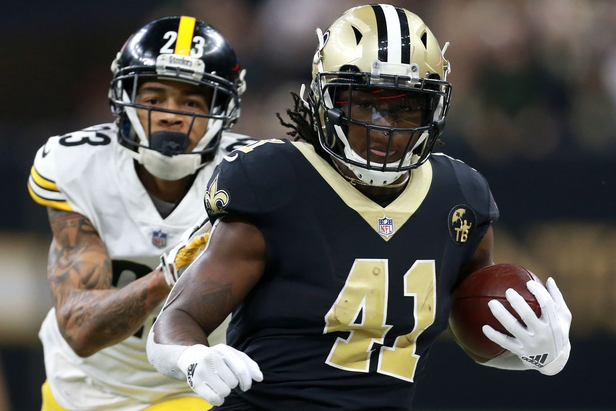 outlet store d2b8d 8ac84 New Orleans Saints 2018 season grades: Running back - Canal ...