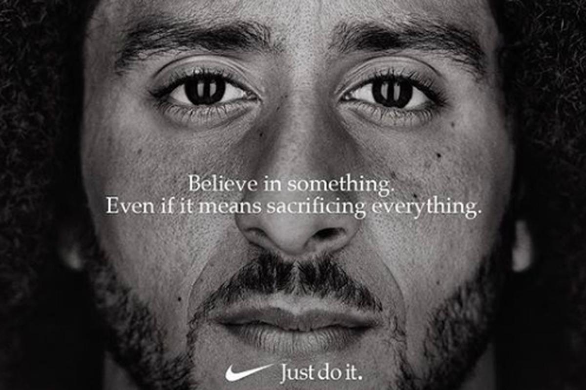 reputable site be3bd 9625e Nike's Colin Kaepernick campaign seeks praise and profit ...