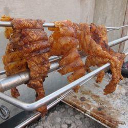 Pork skin!