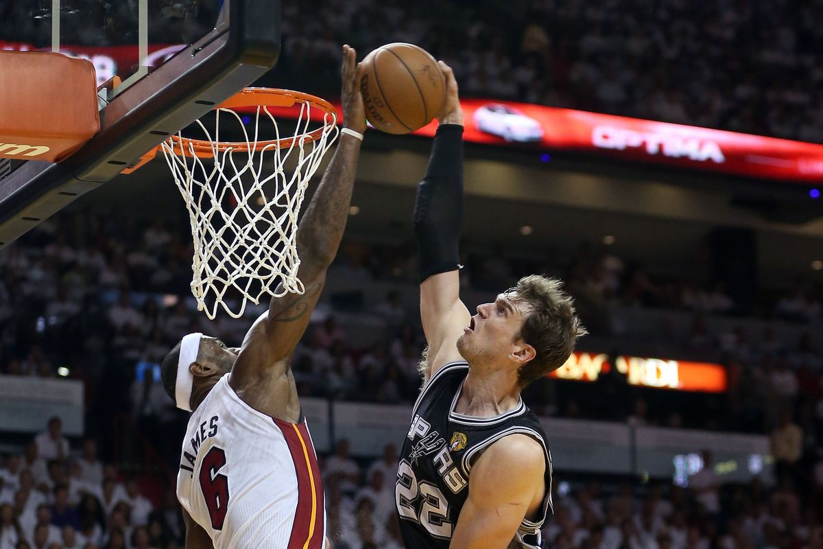 Yeah, Sunday's game was anything but fun for the San Antonio Spurs.  This play is a symbol of that.