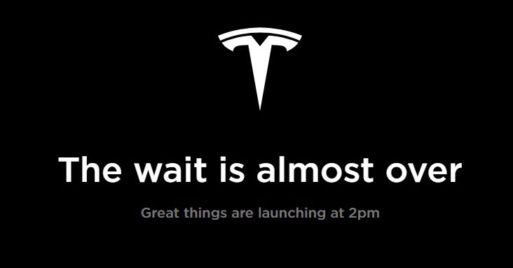 Tesla is Making a Mystery Announcement at 2PM PT