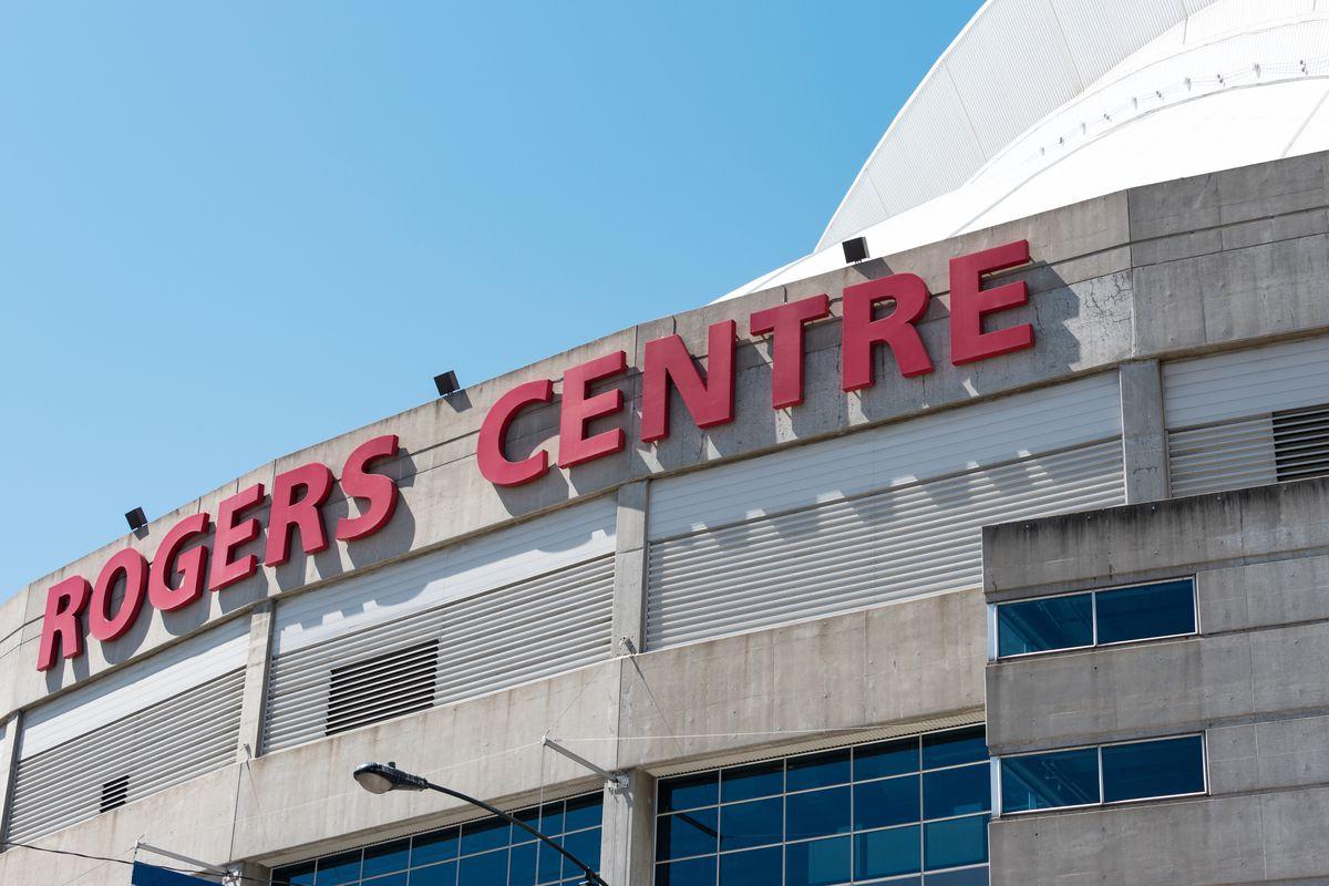 Roger Centre entrance, the landmark is a multi-purpose...