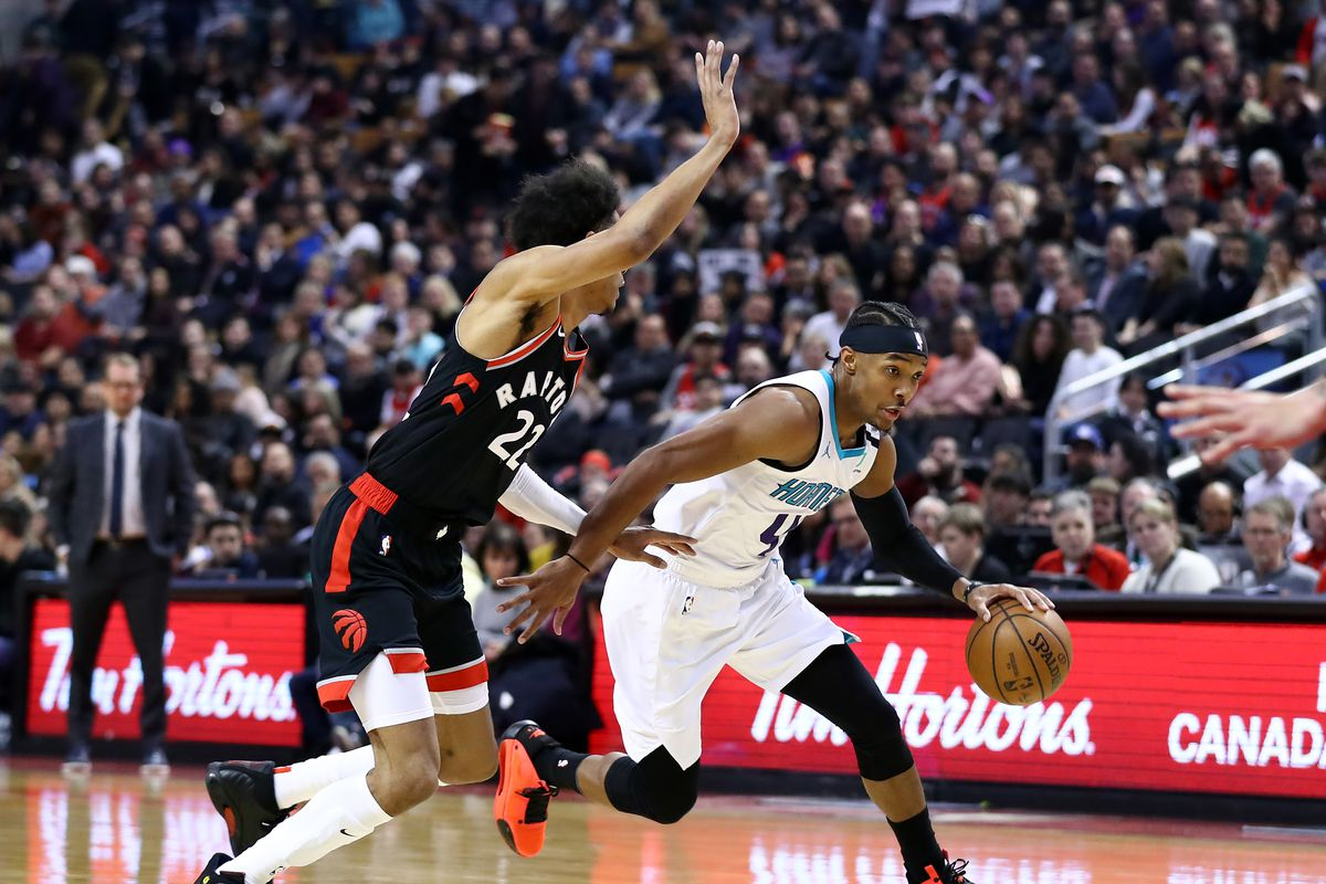 Recap Charlotte Hornets Win A Wild One In Toronto 99 96 At The Hive