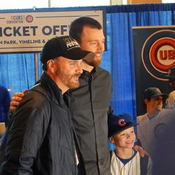 Ben Zobrist Poses with Fans