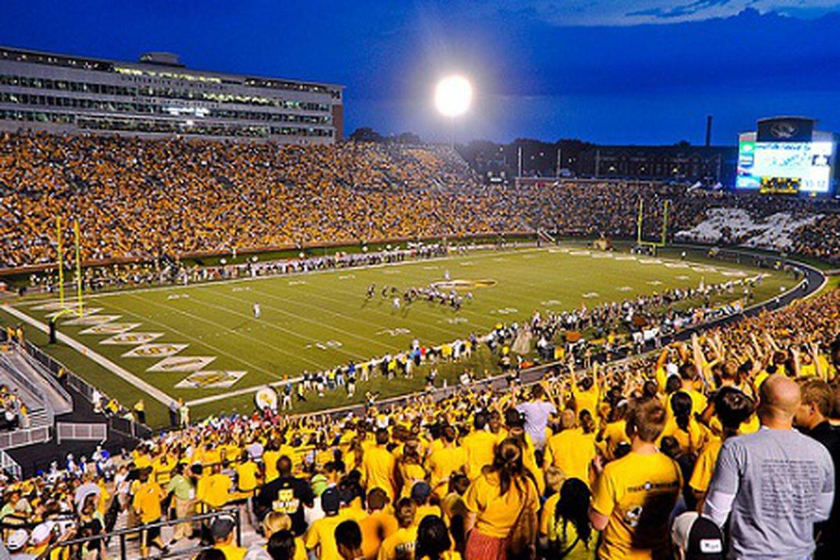 Memorial Stadium/Faurot Field at University of Missouri
