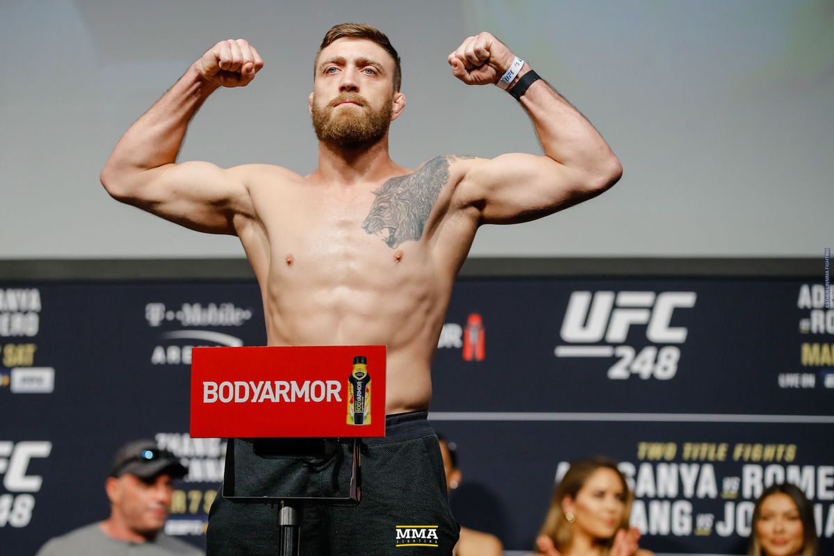 Gerald Meerschaert Vs Ed Herman Pulled From Ufc Vegas 5 Due To Positive Covid 19 Test Mma Fighting